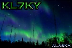 KL7KY QSL card